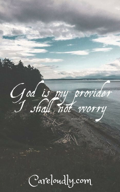 godismyprovider Trusting in the Lord Always!